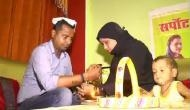 Uttar Pradesh: Muslim women tie rakhis to Hindu brothers