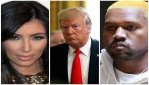 Donald Trump praises Kanye West, Kim Kardashian