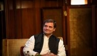 In London, Congress chief Rahul Gandhi questions PM Modi's silence on Nirav Modi, Unnao rape