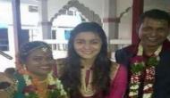 आलिया भट्ट अपनी मेड की शादी में हुई शामिल, देखें तस्वीर