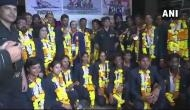 Indian Army gives warm welcome to rowing contingent