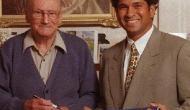 सचिन तेंदुलकर ने डॉन ब्रैडमैन के साथ बिताया खास लम्हा सोशल मीडिया में किया शेयर