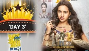 Happy Phirr Bhaag Jayegi Box Office Collection Day 3: Sonakshi Sinha and Jimmy Shergill starrer film is average on its opening weekend
