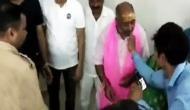 अलीगढ़ : Video- शहर में तनाव था चरम पर और पुलिस स्टेशन में मनाया जा रहा था भाजपा विधायक का जन्मदिन
