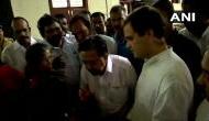 राहुल गांधी का दो दिन का केरल दौरा शुरू, राहत शिविर में बाढ़ पीड़ितों से की मुलाकात