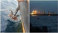 Indian Naval Ship Teg assists Norwegian ship MV Vela in Gulf of Aden