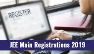 JEE Mains Registration 2019: From this date you can apply for the computer based test at nta.ac.in