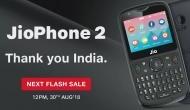 दोपहर 12 बजे से शुरू होगी Jio Phone 2 की महासेल, जानें कैसे बुक कर सकते हैं फोन