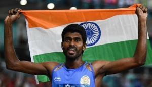Asian Games 2018: जिनसन जॉनसन ने 1500 मीटर में जीता गोल्ड, 800 मीटर में जीता था सिल्वर