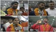 Jinson Johnson, Arpinder Singh back from Asian Games with gold
