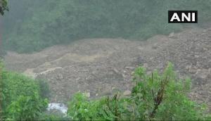 Rainfall, landslides form 100m long lake in Uttarakhand