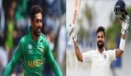 कोहली की नई उपलब्धि पर पाकिस्तानी तेज गेंदबाज मोहम्मद आमिर ने भेजा बधाई संदेश, कहा...