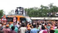 मध्यप्रदेश: सीएम शिवराज सिंह चौहान के वाहन पर पत्थरबाजी, काले झंडे दिखाए गए