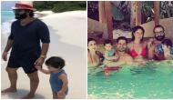 तैमूर खान परिवार के साथ मालदीव में छुट्टियों का ले रहा है मज़ा, पापा सैफ के साथ तस्वीर वायरल