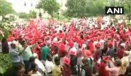 मोदी सरकार के खिलाफ किसान-मजदूर, रामलीला मैदान से संसद मार्ग तक विशाल रैली