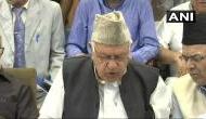 फारूक अब्दुल्ला की 35 ए पर धमकी, केंद्र ने रुख स्पष्ट नहीं किया तो पंचायत चुनाव का करेंगे बहिष्कार