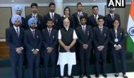 PM Narendra Modi felicitates Asian Games 2018 medalists