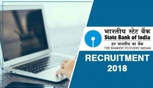 SBI Recruitment 2018: Few hours left for Specialist Cadre Officers vacancies; apply for handsome salary package