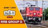 RRB Group D Admit Card: Download your hall tickets for 17 September exam now; follow these instructions