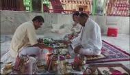 National Security Advisor Ajit Doval offers 'pindadaan' in Bihar's Gaya