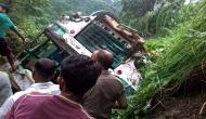 Himachal Pradesh: At least 3 killed, 44 injured after HP Roadways bus carrying 47 passengers fell into a gorge; rescue underway