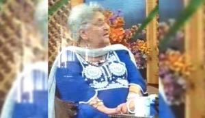 Watch Video: Jammu and Kashmir activist Rita Jetinder died on Live TV talk show in Srinagar