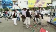 भारत बंद: पटना में मारपीट और हिंसा, कांग्रेस कार्यकर्ताओं ने उज्जैन में पेट्रोल पंप में की तोड़फोड़