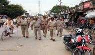 Police use batons to quell protests by students in Karnal