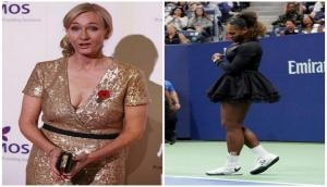 British novelist J.K. Rowling condemns 'racist, sexist' depiction of Serena Williams