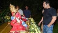सलमान खान के घर में हुई गणेश पूजा में कैटरीना ने किया ये काम और हो गईं ट्रोल