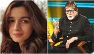 Kaun Banega Crorepati 10: Amitabh Bachchan got brutally trolled over asking whom Alia Bhatt has not kissed on-screen