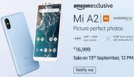 Mi A2 खरीदने का लिए आज ग्राहकों के पास है शानदार मौका, मिल रही है इतनी छूट