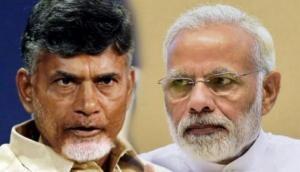 Naidu trying to establish his son in politics: PM Modi in Andhra's Guntur