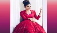 Photos: प्रिया प्रकाश ने रेड गाउन पहनकर कराया ग्लैमरस फोटोशूट, देखें तस्वीरें