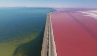 गिरगिट की तरह पलभर में रंग बदल गई ये खूबसूरत झील, देखें हैरान कर देने वाला वायरल वीडियो