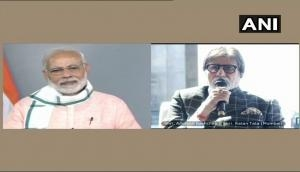 PM Modi launches Swachhata Hi Seva Abhiyan; Amitabh Bachchan applauds this cleanliness mission