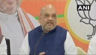 Amit Shah attacks Grand Alliance, says 'mahamilawat' has given tickets to 'bahubalis'