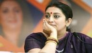 Union Minister Smriti Irani hit out at Congress leader Navjot Singh Sidhu, calling him modern India's Jaichand over Pulwama comment