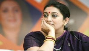 Rahul Gandhi doesn't care about poor, only concerned with his politics: Smriti Irani