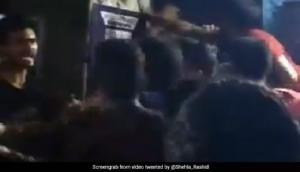 JNUSU election 2018: Newly elected JNUSU president N Sai Balaji allegedly beaten up after a clash erupted between ABVP and AISA