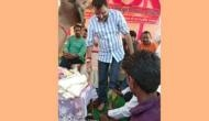 Watch: Jharkhand BJP worker washes feet of MP Nishikant Dubey, drinks that 'dirty' water; video goes viral
