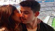 प्रियंका चोपड़ा ने मंगेतर निक जोनस को किया KISS, इंस्टाग्राम पर फोटो शेयर कर लिखा...