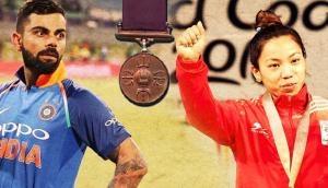 Virat Kohli and weightlifter Mirabai Chanu recommended for Rajiv Gandhi Khel Ratna awards