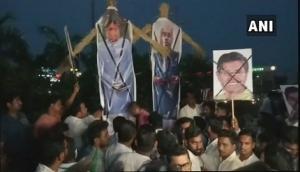BJD workers demand Baijayant Panda's arrest for flying chopper over Chilika Lake