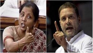राहुल गांधी ने रक्षा मंत्री को कहा 'राफेल मंत्री', मांगा इस्तीफ़ा