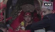 Meet Trishna Shakya, Nepal's living goddess who made her first public appearance after being anointed