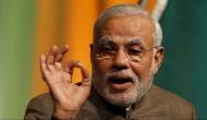 JNUSU burns effigy of PM Modi to condemn the