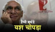 बर्थडे स्पेशल: यश चोपड़ा ने शाहरुख को रातोंरात बनाया था किंगखान, फिल्मों में रोमांस को दी थी अलग जगह