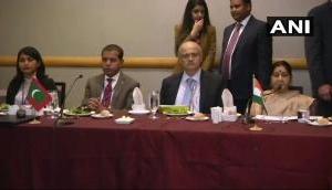 Video: सुषमा स्वराज ने SAARC में पाक विदेश मंत्री का नहीं सुना भाषण तो बौखला गए शाह महमूद कुरैशी !