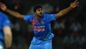 Indian all-rounder Vijay Shankar back to field after minor injury